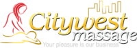 CITY WEST Massage Company Logo
